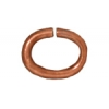 Jump Ring 20 Gauge Oval 2.7x4.2mm  Copper
